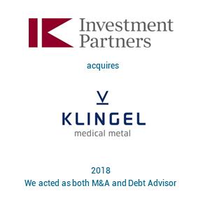 Tombstone IK Investment Partners 2018 englisch