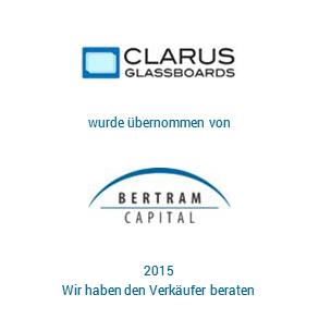 Tombstone Clarus Bertram Transaktion 2015