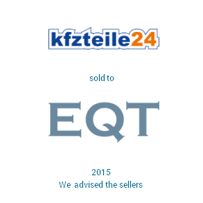 Tombstone kfzteile eqt Transaction 2015