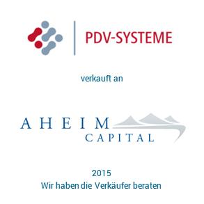 Tombstone PDV Aheim Transaktion 2015