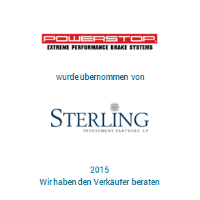 Tombstone Powerstop Sterling Transaktion 2015