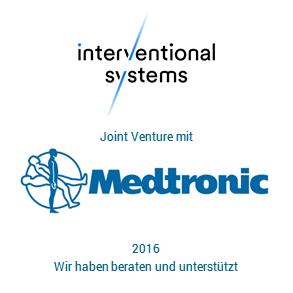 Tombstone IS Medtronic Transaktion 2016 deu