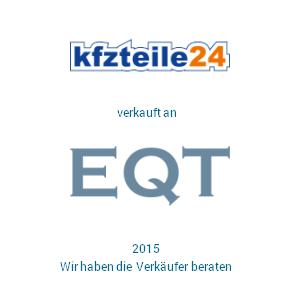 Tombstone kfzteile EQT Transaktion 2015