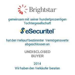 Tombstone Brightstar eSecuritel Transaktion 2014