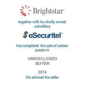 Tombstone Brightstar eSecuritel Transaction 2014