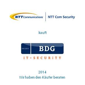 Tombstone NTT BDG Transaktion 2014