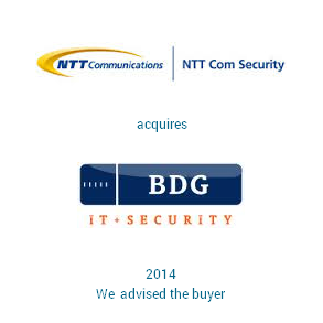 Tombstone NTT BDG Transaction 2014