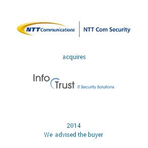 Tombstone NTT Infotrust Transaction 2014