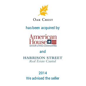 Tombstone OakCrest Harrisson Transaction 2014