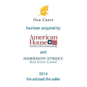 Tombstone OakCrest Harrisson Transaction 2014