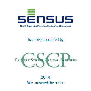 Tombstone Sensus CSCP Transaction 2014
