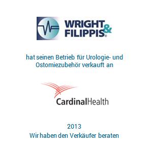 Tombstone Wright Filippis CardinalHealth Transaktion 2013