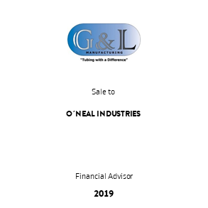 Tombstone GL oneal Transaction 2019 en