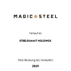 Tombstone MagicSteel Steelsummit Transaktion 2019 deu