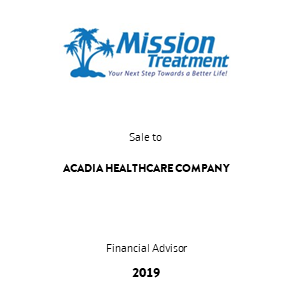 Tombstone MissionTreatment AcadiaTransaction 2019 en