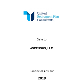 Tombstone UnitedRetirement Ascensus Transaction 2019 en