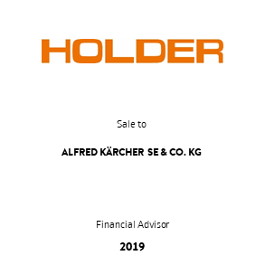 Tombstone Holder Kaercher Transaction 2019 en