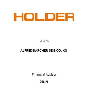 Tombstone Holder Kaercher Transaction 2019 en