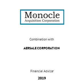 Tombstone Monocle AerSale Transaction 2019 en