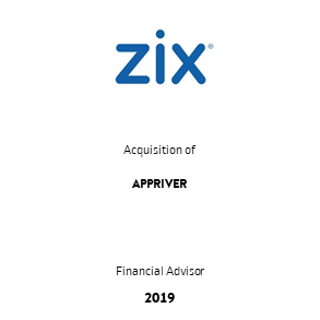 Tombstone Zix Appriver Transaction 2019 en