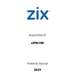 Tombstone Zix Appriver Transaction 2019 en