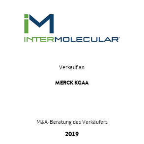 Tombstone Intermolecular Merck Transaktion 2019 de