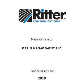 Tombstone Ritter Grain Transaction 2019 en