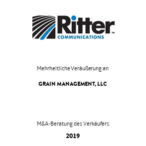 Tombstone Ritter Grain Transaktion 2019 de