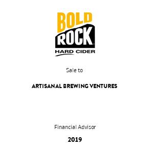 Tombstone BoldRock Artisanal Transaction 2019 en