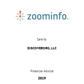 Tombstone Zoominfo Discover Transaction 2019 en