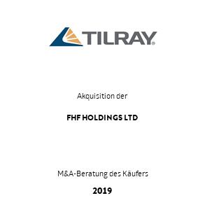 Tombstone Tilray FHF Transaktion 2019 de