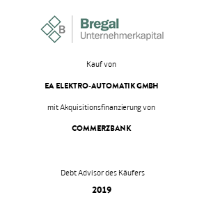 Tombsteon Bregal EA Transaktion 2019 de
