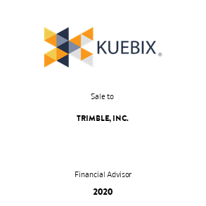 Tombstone Kuebix Trimble Transaction 2020 en