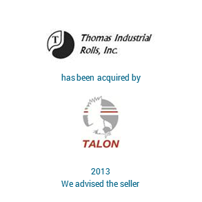 Tombstone Thomas Industries Talon Transaction 2013 en