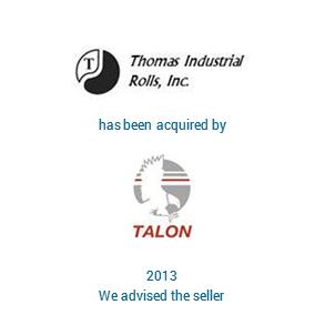 Tombstone Thomas Industries Talon Transaction 2013 en