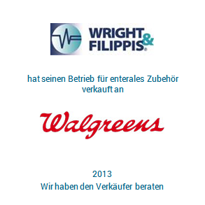 Tombstone Wright Walgreens Transaktion 2013 de