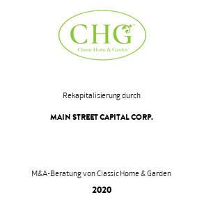 Tombstone CHG Main Street Capital Rekapitalisierung 2020a deu