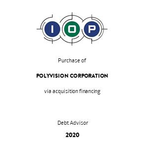 Tombstone IOP Polyvision Transaktion Cowen 2020 en