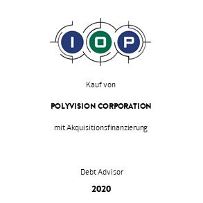 Tombstone IOP Polyvision Transaktion Cowen 2020 de