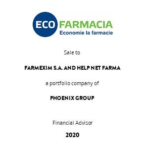 Tombstone Ecofarmacia Phoenix Transaction 2020 eng