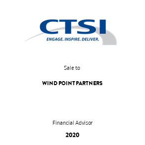 Transaktion CTSI WindPoint Transaction 2020 en