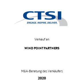Transaktion CTSI WindPoint Transaktion 2020 de