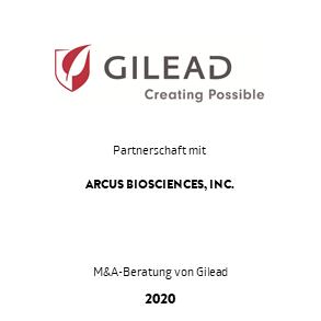 Tombstone Gilead Arcus Partnership 2020 de