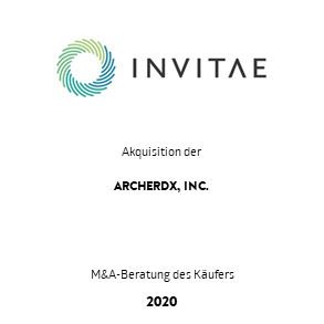 Transaktion Invitae Archer Transaktion 2020 deu