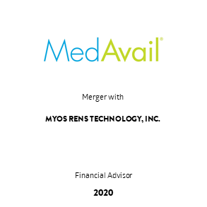 Tombstone Transaction MedAvail Myos 2020 en