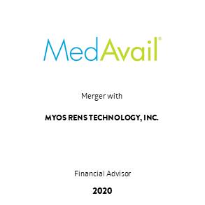 Tombstone Transaction MedAvail Myos 2020 en