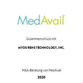 Tombstone Transaktion MedAvail Myos 2020 de