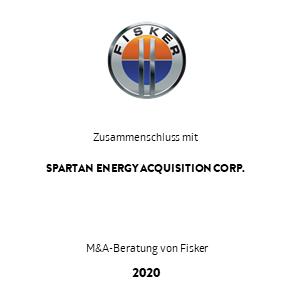 Tombstone Fisker Spartan Transaktion 2020