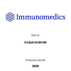 Tombstone Immunomedics Gilead EN